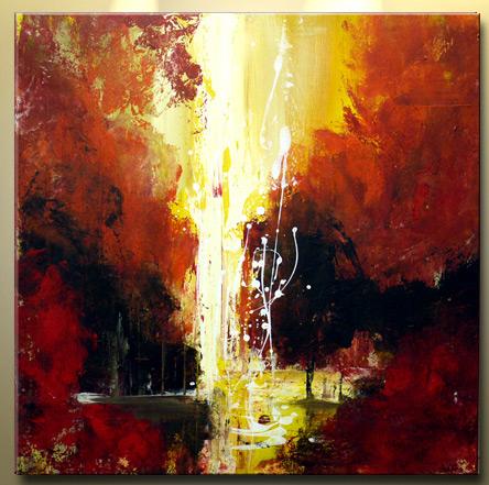 Kunst Christian David Schwartz painting-Pirogen