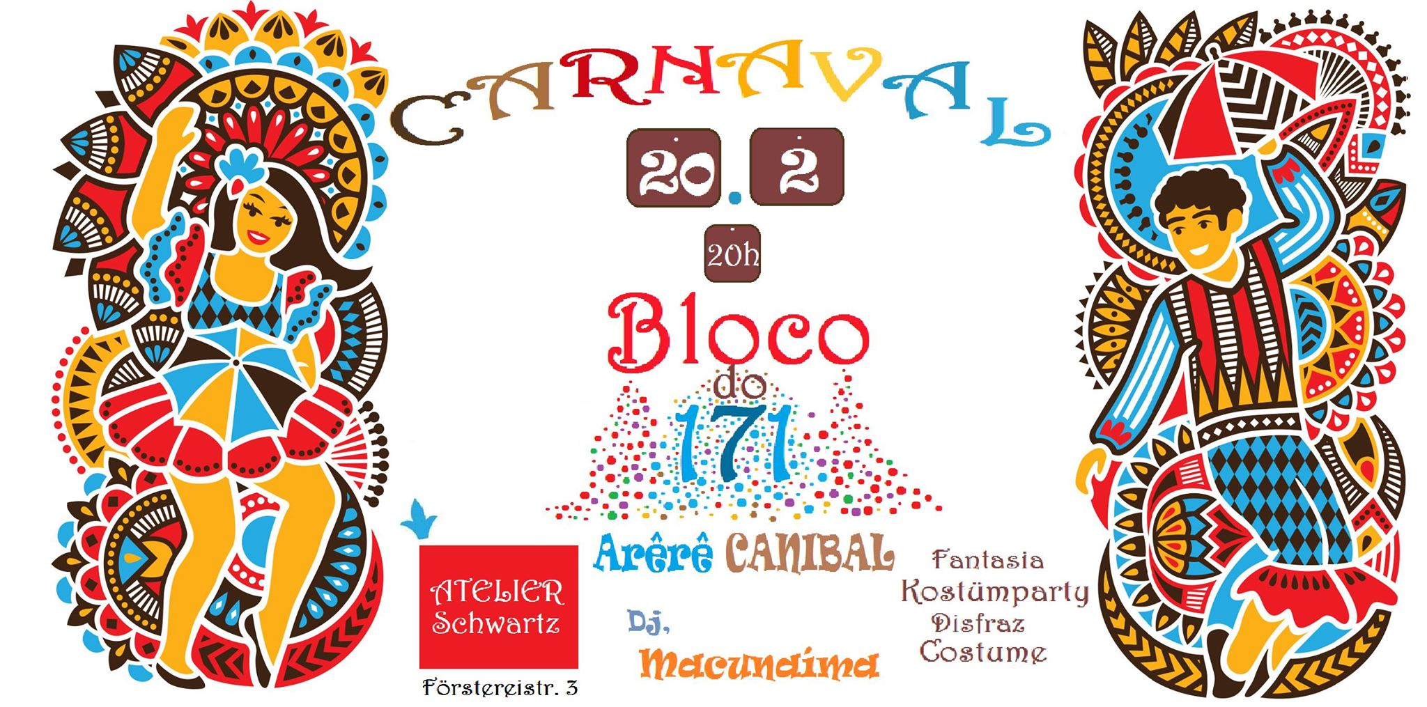 Atelier-schwartz-karneval-party