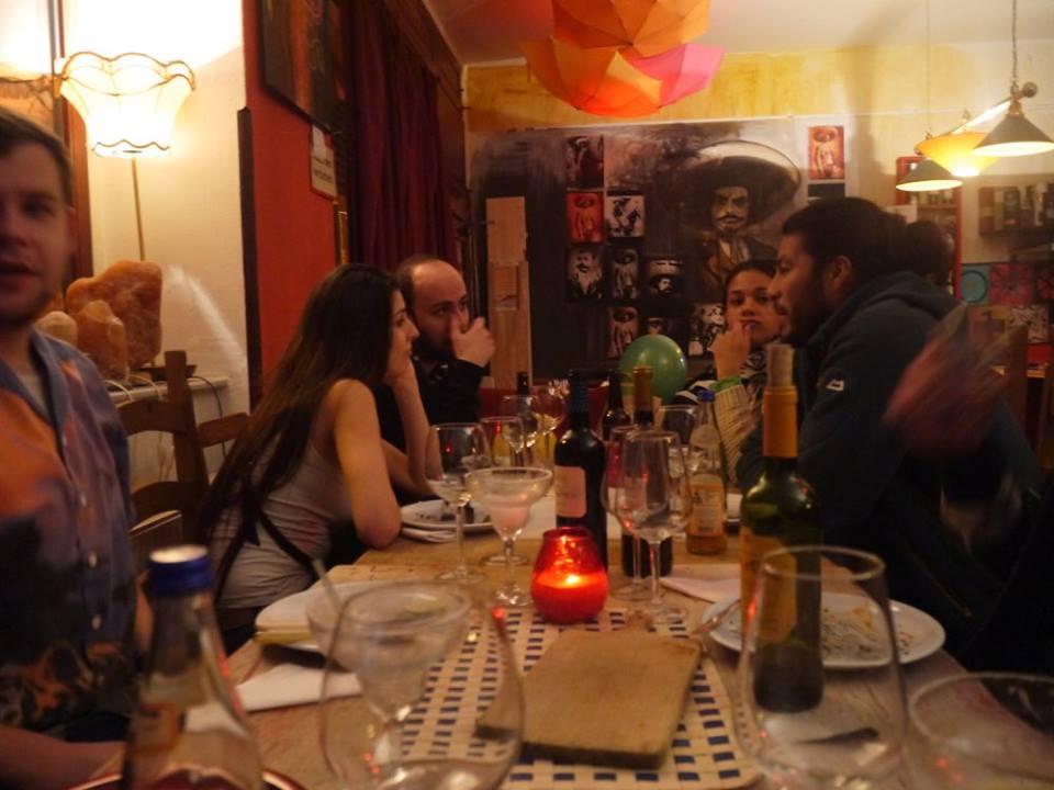 Comida mexicana fiesta dresden