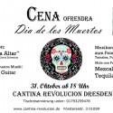 Abendessen Cena dia de los Muertos latinpartydresden